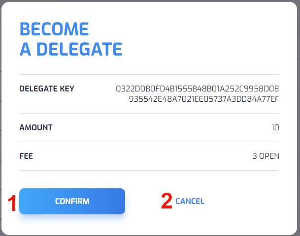 Become Delegate Confirm
